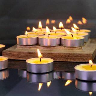 tea lights set of 12 pcs